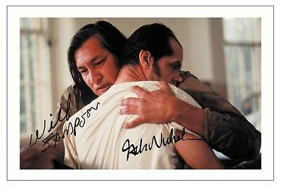 $ CDN9.39 • Buy Jack Nicholson Will Sampson Signed Photo Print  One Flew Over The Cuckoos Nest