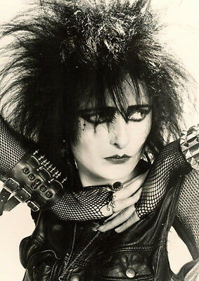 Siouxsie And The Banshees  Sioux Early BW Poster • 5.99£
