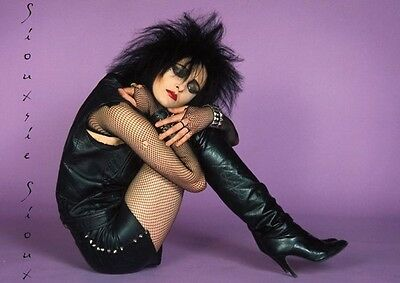 Siouxsie And The Banshees  Sioux Studio Colour Pose Poster • 5.99£