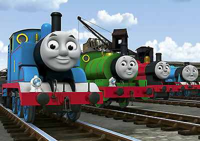 £4.75 • Buy Thomas The Tank Engine Large Poster Art Print A4 A3 A2 A1 A0 Tt01 Kids Bedroom