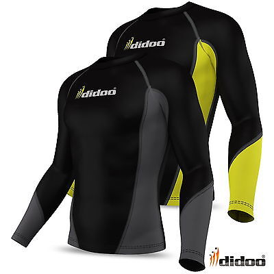 Mens Thermal Base Layer Compression Full Sleeve Shirt Top Body Armour Cold Wear • 13.99£