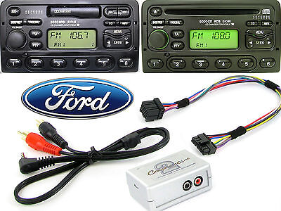 Ford Focus 1998-2004 AUX Adapter Lead 3.5mm Jack In Car IPod MP3 HTC CTVFOX001 • 32.99£