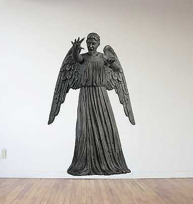 £50.08 • Buy Doctor Who Weeping Angel Repositionable Wall Decal Sticker-Sci-Fi-Whovian-Gift!