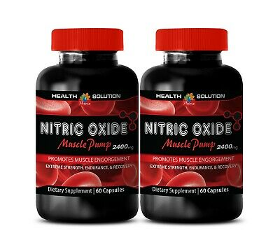 £22.48 • Buy Nitric Oxide 2400mg - Nitric Oxide Power Muscle Building Max Power Edition 2Bot