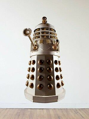 £50.08 • Buy Doctor Who Dalek Repositionable Wall Decal Sticker-Sci-Fi-TV-Gif-Whovian