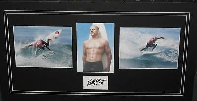 AU220 • Buy KELLY SLATER Signed Collage (SURFING)
