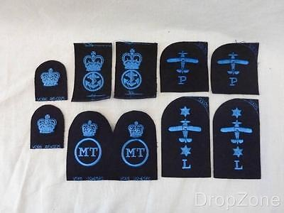 WRNS Women's Royal Naval Service Qualification Badges Patches Assorted • 9.99£