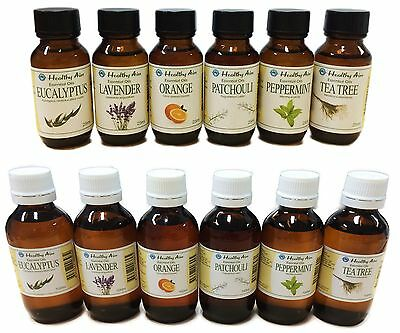 AU16.80 • Buy ESSENTIAL OILS - 100% Pure Uncut Premium Grade - Healthy Aim Aromatherapy