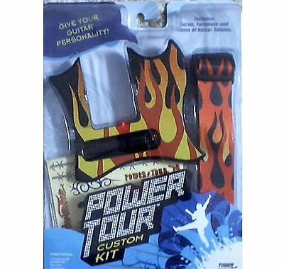 $ CDN60.66 • Buy Power Tour Guitar Custom Kit Flames! Stand & Case + Amp! NEW HTF Rare!