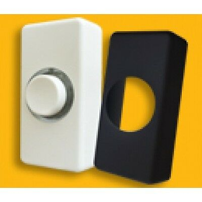 £3.73 • Buy Illuminated Door Bell Push Interchangeable Black Or White Cover