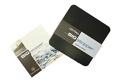 £99 • Buy Lee Filters 100x100mm Big Stopper 3.0 Neutral Density Filter (10 Stop) Glass