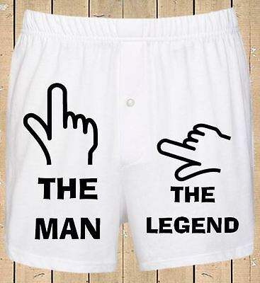 Personalised Mens Boxer Shorts Funny Humorous Birthday, Stag, Wedding Gift  • 6.99£