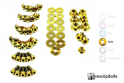 $ CDN249.13 • Buy Dress Up Bolts For 93-02 Toyota Supra MKIV Gold Ti Titanium Engine Bay 2JZ Kit