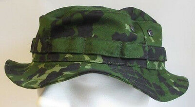$40 • Buy RECCE Hat Boonie  Danish  M84  Green Camouflage      - Made In Germany -