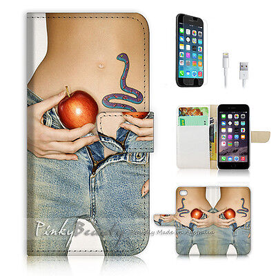 AU12.99 • Buy ( For IPhone 6 Plus / IPhone 6S Plus ) Case Cover P0765 Snake Apple Girl