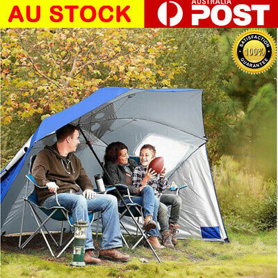 AU79.50 • Buy Portable Sun Shade & Weather Shelter Umbrella Beach Pool Picnic Outdoor Camping