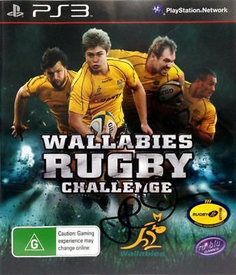 AU17.95 • Buy Wallabies Rugby Challenge (Signed Copy)