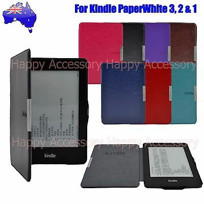 AU12.99 • Buy Leather Case Cover For Amazon 7th Gen Kindle 7 2014, Kindle Paperwhite 3,2,1