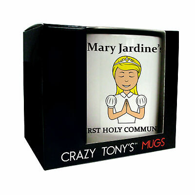 Personalised Gifts For Girls First Holy Communion, Crazy Tony's, Communion Mugs • 11.94£