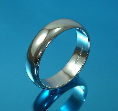 925 Sterling Silver Plain Wedding Band Ring UK HALLMARKED Mens-Ladies All Sizes • 9.48£