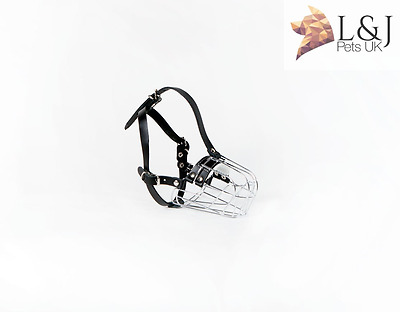 £18.50 • Buy  New Metal STRONG Wire Basket Dog Muzzle For Poodle 3 & 3+ And Other Dogs