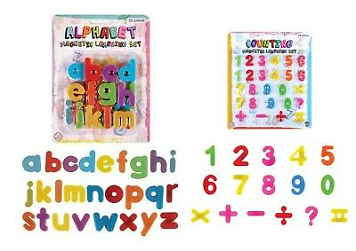 £1.99 • Buy Magnetic Learning Numbers And Letters Toy Fridge Magnetic Maths Alphabet