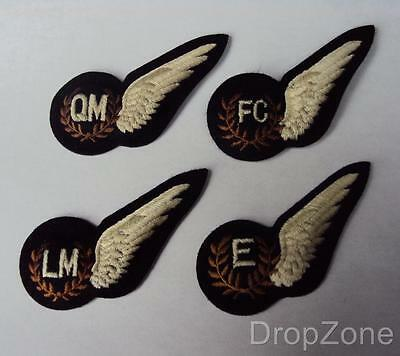 Genuine RAF Royal Air Force Qualification 1/2 Brevet Wings Badge Patch FC,LM,QM • 5.99£