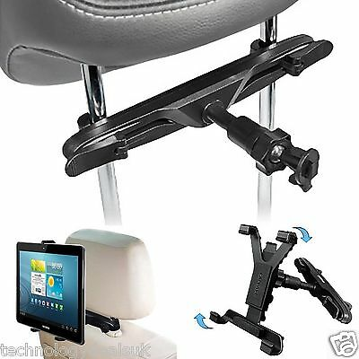 £9.99 • Buy Adjustable Universal In Car Headrest Seat Mount Holder For IPad Tablet 7  To 11