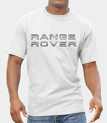 Land Rover Range Rover LOGO NEW T-SHIRT FRUIT OF THE LOOM Print By EPSON • 11.99£