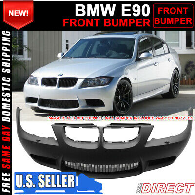 $369.99 • Buy For 06-08 BMW E90 3 Series M3 Style Front Bumper Conversion With Air Duct