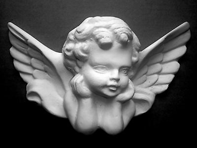 £84.99 • Buy Silicone Rubber Mould Large Cherub Mirror Moulding / Wall Plaque