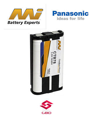 AU25.99 • Buy CTB78 Battery For Panasonic KX-FG5210 KX-FG5212 KX-FG5213 KX-FG6550 KX-FGP378