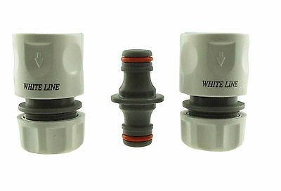 £7.64 • Buy Hose End Connector&double Male(compatible With Hozelock,2166,2291,hose Fitting