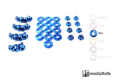 $148.49 • Buy Dress Up Bolts For 99-04 Ford Mustang GT & Cobra Blue Titanium Engine Bay Kit