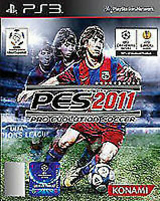 AU10.95 • Buy Pro Evolution Soccer 2011 PlayStation 3 PS3 Game + Booklet