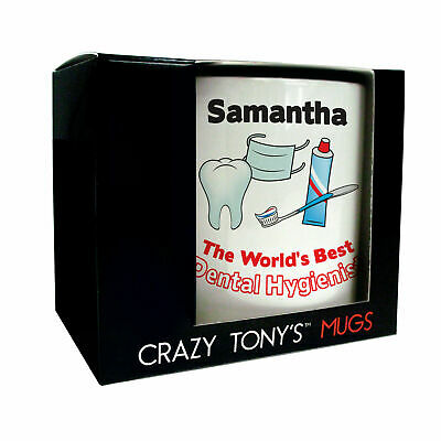 Personalised Gift Ideas For Dental Hygienists Quality Occupation Mug Presents • 11.94£