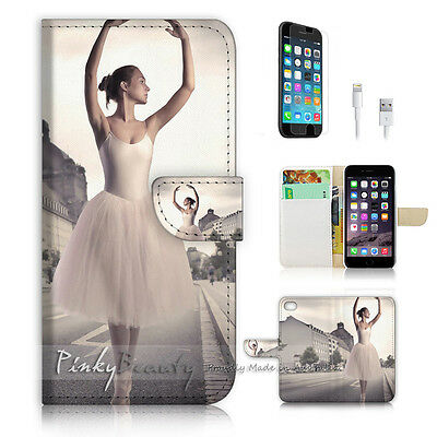 AU12.99 • Buy ( For IPhone 6 6S ) Wallet Case Cover  P1690 Ballet Girl