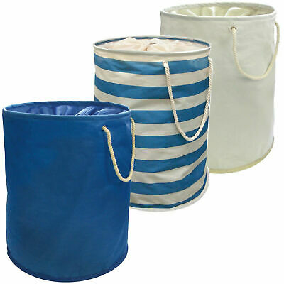 Laundry Bin Large Pop Up Folding Wash Basket Bag Storage Hamper Double Small XL • 7.99£
