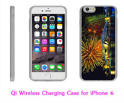 AU29.98 • Buy Qi Wireless Charging Receiver Case Charger Back Cover Skin For IPhone 6/6s