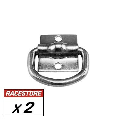 AU9.80 • Buy Lashing D Ring (2 Pack) Tie Down Anchor Point, Trailer Truck Toolbox Ute Tray