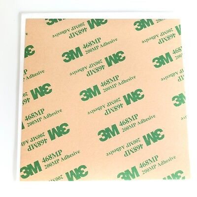 3M 468MP 10 X 8cm Sheet Double Sided Adhesive Tape 4 Touch Screen Phone Repair • 2.49£