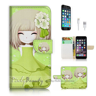 AU12.99 • Buy ( For IPhone 6 Plus / IPhone 6S Plus ) Case Cover P1992 Flower Girl