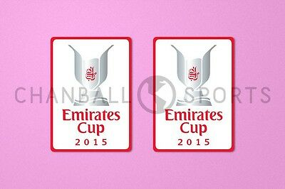 £10.99 • Buy Arsenal Emirates Cup 2015 Sleeve Soccer Patch / Badge