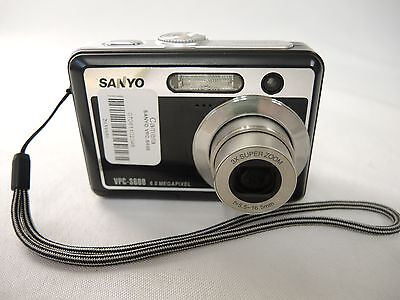 "$2.99 • Buy Sanyo VPC-S600 Digital Camera ""FOR PARTS"" (29881)"