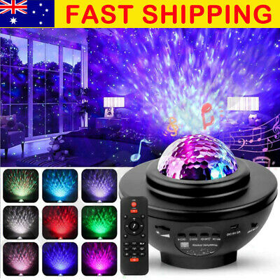 AU38 • Buy LED Galaxy Starry Night Light Projector Ocean Star Sky Party Baby Kids Room Lamp