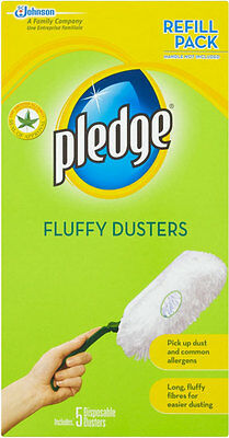 PLEDGE FLUFFY DUSTERS REFILL 5s X 3 PACKS • 14.88£