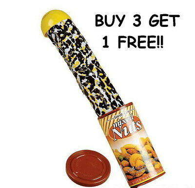 $4.82 • Buy 1 Pop Out Snake In A Nut Can Magic Trick Prank Gag Gift Party Favor Carnival