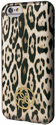 Guess Animal Collection Leopard Print TPU Case For IPhone 6 & 6s 4.7  Brown • 10.57£