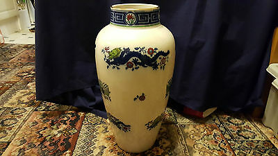Late 19th C Huge Minton Chinese Dragon Vase 48 Cm Tall • 170£
