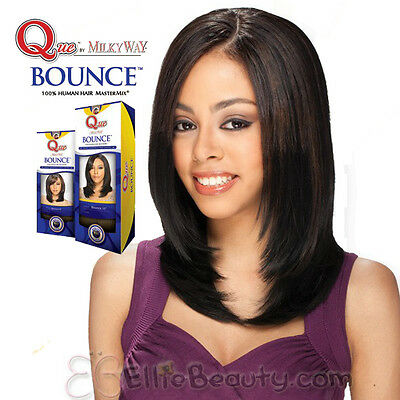 $13.99 • Buy Milky Way QUE 100% Human Hair MasterMix Q-Bounce Weave